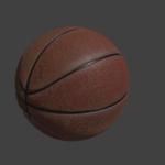 バスケットボール blender オブジェクト