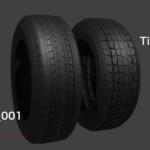 タイヤ モデリングデータ blender